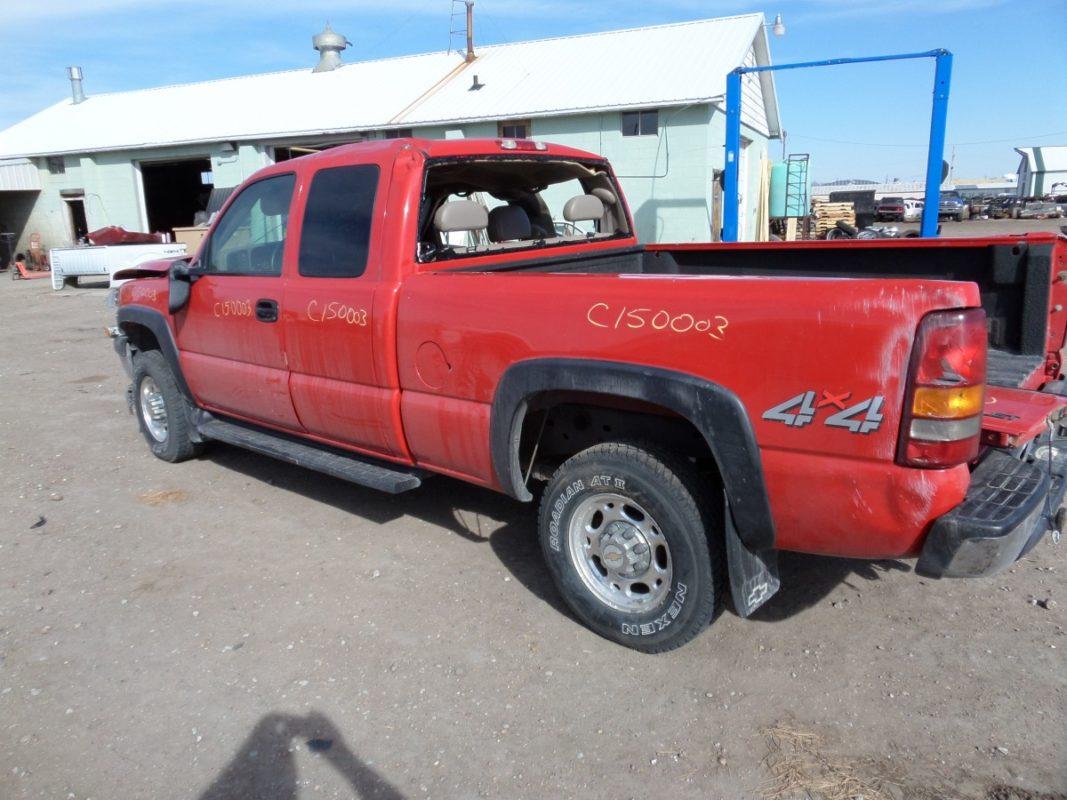 2002 CHEVY SILVERADO EXTCAB C15003 - Tri-City Auto Parts