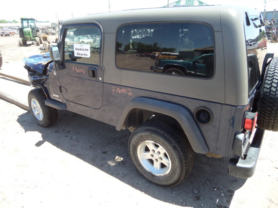 2005 Unlimited Jeep Wrangler F16002